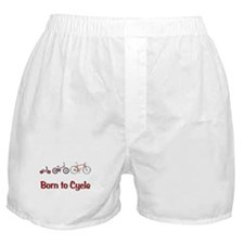 Born to Cycle Boxer Shorts