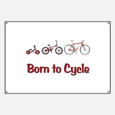 Born to Cycle Banner
