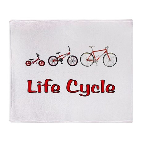 Life Cycle Throw Blanket