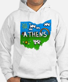 Athens, Ohio. Kid Themed Hoodie
