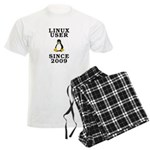 Linux user since 2009 - Men's Light Pajamas