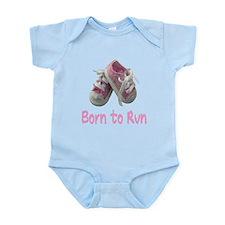 Born to Run Girl Infant Bodysuit
