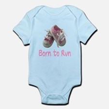 Born to Run Girl Infant Bodysuit