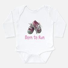 Born to Run Girl Onesie Romper Suit