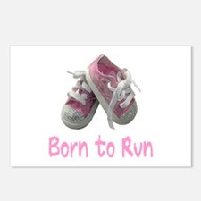 Born to Run Girl Postcards (Package of 8)