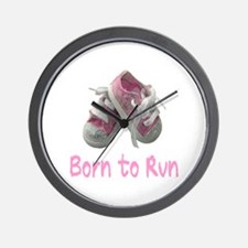Born to Run Girl Wall Clock