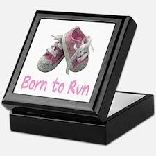 Born to Run Girl Keepsake Box
