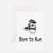 Born to Run Greeting Card