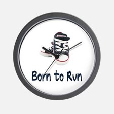 Born to Run Wall Clock
