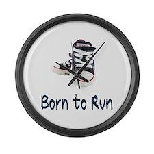 Born to Run Large Wall Clock