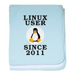 Linux user since 2011 - baby blanket