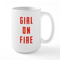 Girl On Fire Mug