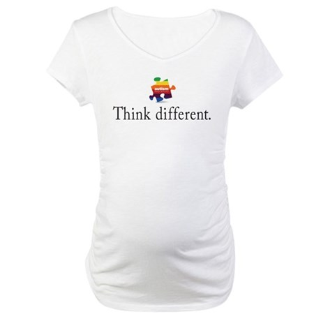Think Different Maternity T-Shirt