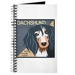 Dachshund-Kiss.Snuggle.Repeat. Journal