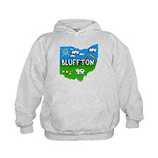 Bluffton, Ohio. Kid Themed Hoodie