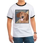 Dachshund-Kiss.Snuggle.Repeat. Ringer T