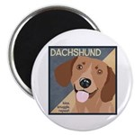 Dachshund-Kiss.Snuggle.Repeat. Magnet