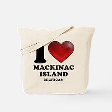 I Heart Mackinac Island Tote Bag