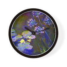 Monet - Lilies Wall Clock