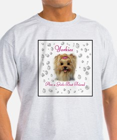 Yorkies10GBFframed T-Shirt