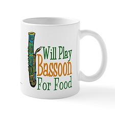 Will Play Bassoon Small Mug