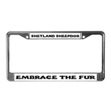 Shetland Sheepdog (Sheltie) License Plate Frame