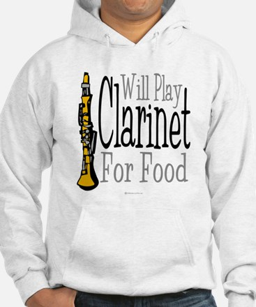 Will Play Clarinet Hoodie