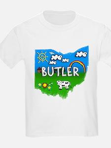 Butler, Ohio. Kid Themed T-Shirt
