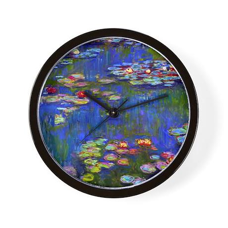 Monet - Water Lilies 1916 Wall Clock
