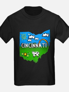 Cincinnati, Ohio. Kid Themed T
