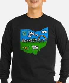 Connecticut, Ohio. Kid Themed T