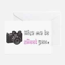 Hire Me - Greeting Card