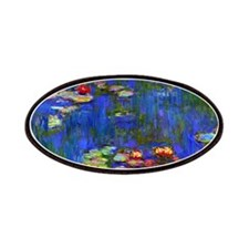 Monet - Water Lilies 1916 Patches