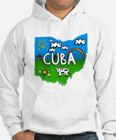 Cuba, Ohio. Kid Themed Hoodie
