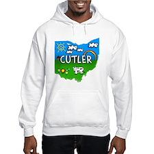 Cutler, Ohio. Kid Themed Hoodie