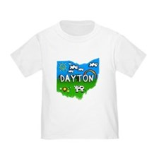 Dayton, Ohio. Kid Themed T