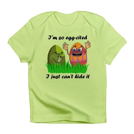 Funny Easter Eggs Infant T-Shirt