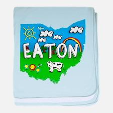Eaton, Ohio. Kid Themed baby blanket