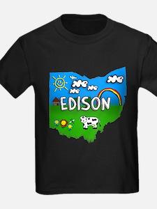 Edison, Ohio. Kid Themed T