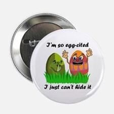 "Funny Easter Eggs 2.25"" Button"