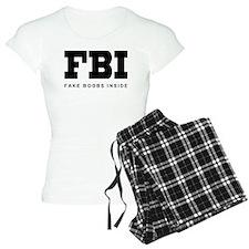 Fake Boobs Inside pajamas