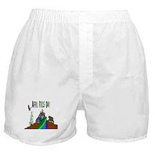 April Fools Day Boxer Shorts