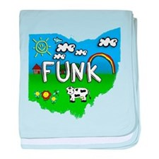 Funk, Ohio. Kid Themed baby blanket