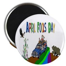 April Fools Day Magnet