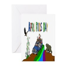 April Fools Day Greeting Cards (Pk of 10)