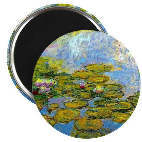 Monet - Water Lilies 1919 Magnet