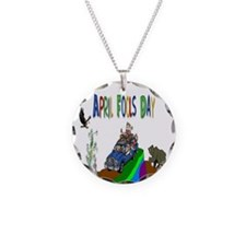 April Fools Day Necklace
