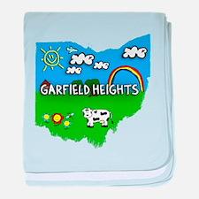 Garfield Heights, Ohio. Kid Themed baby blanket