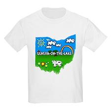 Geneva-on-the-Lake, Ohio. Kid Themed T-Shirt
