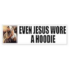 Jesus wore a hoodie Bumper Sticker
